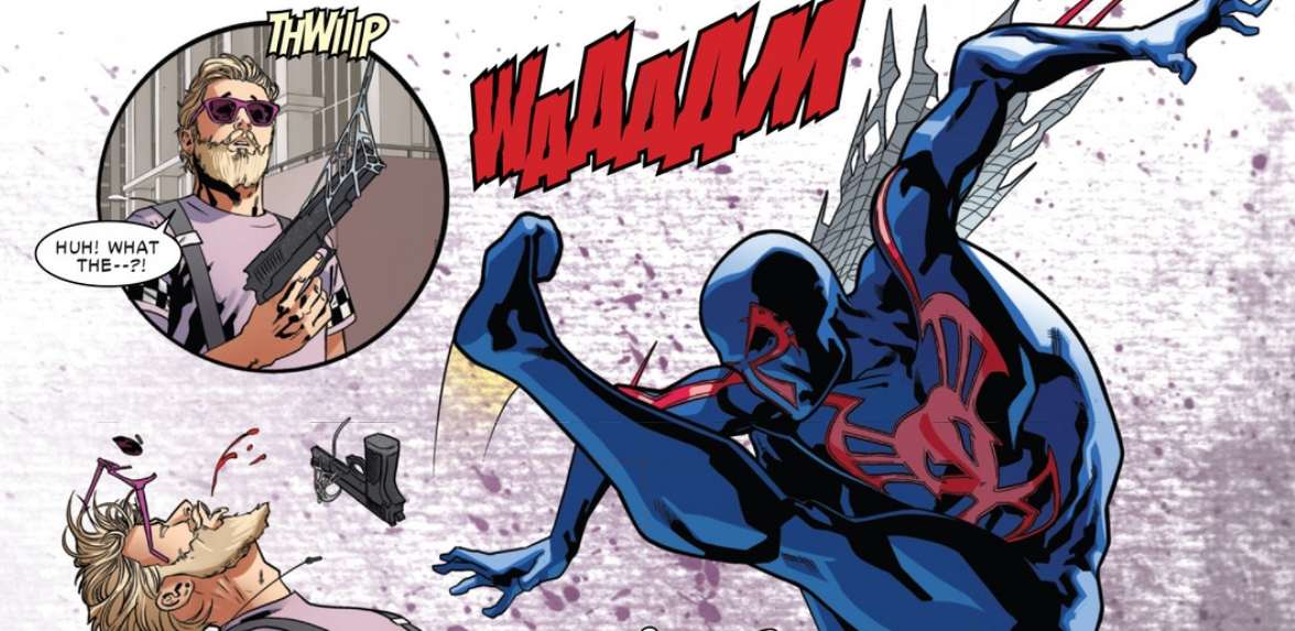 Spider-Man 2099 Preview in Amazing Spider-Man #1
