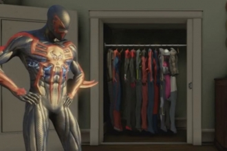 2099 Suit in Amazing Spider-Man 2 Video Game