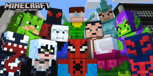 Spider-Man Skin Pack for Minecraft