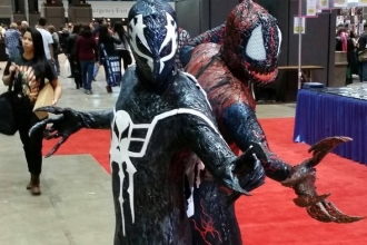 Spider-Man 2099 Symbiote Cosplay