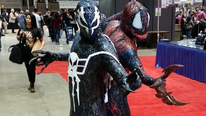Spider-Man 2099 Symbiote Cosplay