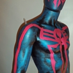 Lifesize Spider-Man 2099 Statue Listing on ebay