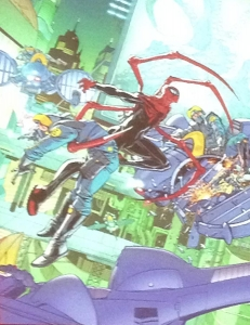 Spider-Verse Teaser - Superior Spider-Man in 2099