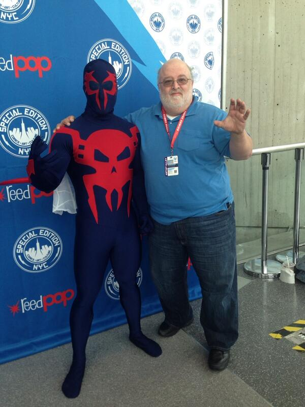 Spider-Man 2099 Cosplay at Special Edition NYC