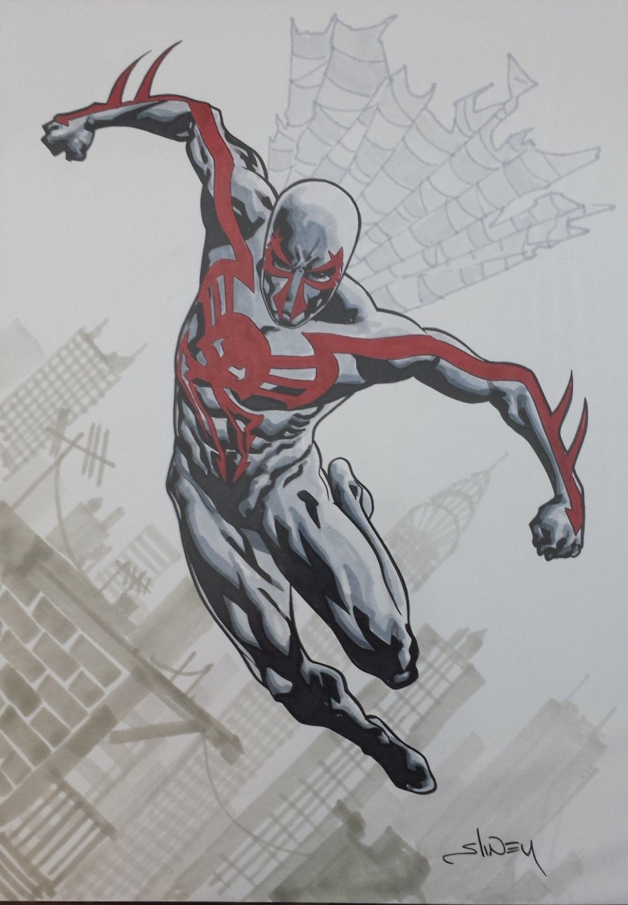 Spider-Man 2099 Commission by Will Sliney