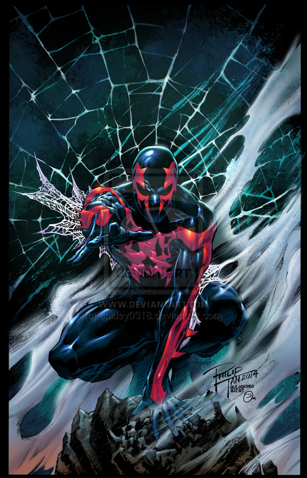 Spider-Man 2099 on DeviantArt