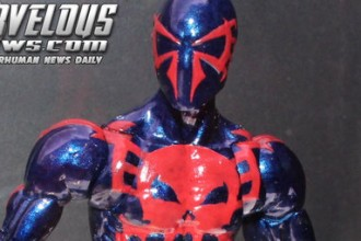 Spider-Man 2099 Marvel Legends Action Figure Unveiled