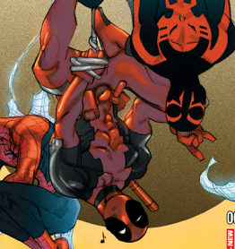 Spider-Man 2099 #1 Deadpool Variant Cover - Hastings Exclusive