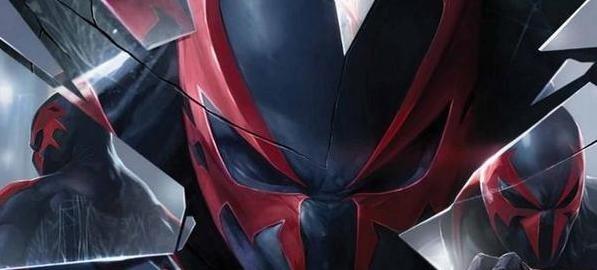 Spider-Man 2099 #5 Cover by Francesco Mattina