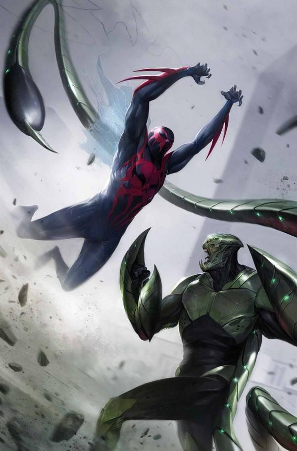 Spider-Man 2099 Issue 4 Cover
