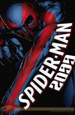 Spider-Man 2099 #3 Variant Cover