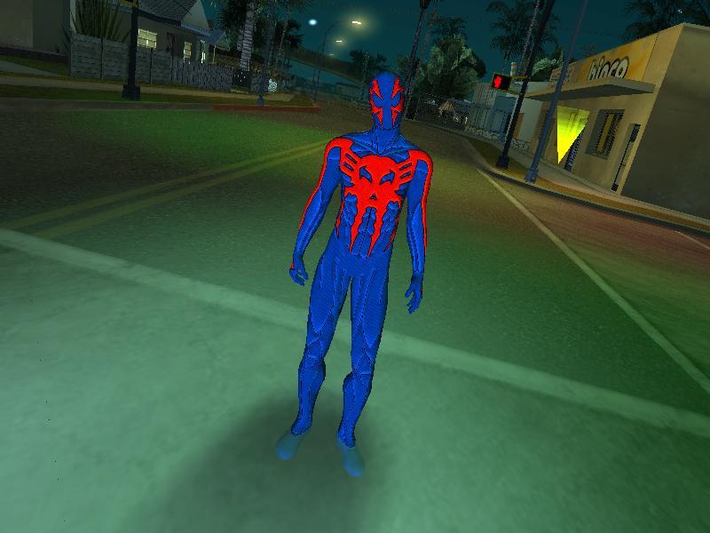 Spider-Man 2099 GTA Mod
