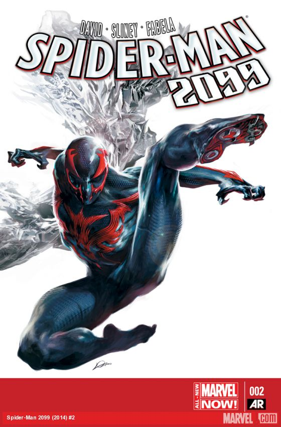 Spider-Man 2099 #2 - Cover