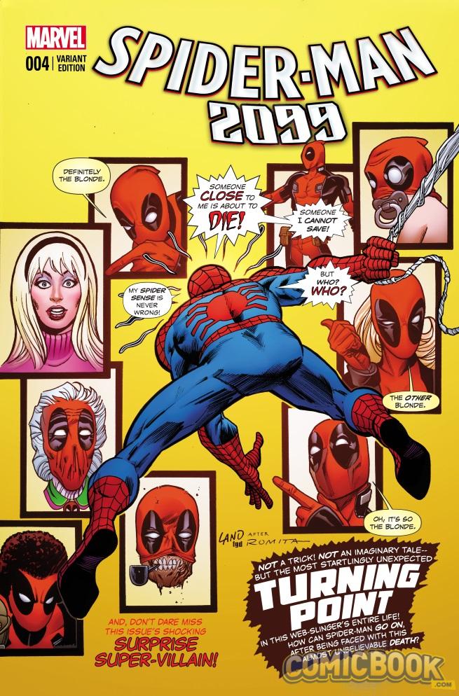 Spider-Man 2099 #4 Deadpool Variant Cover - Spider-Man 2099