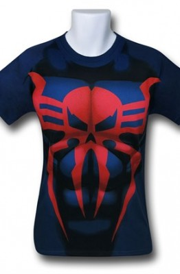 Spider-Man 2099 Costume T-Shirt - Spider-Man 2099