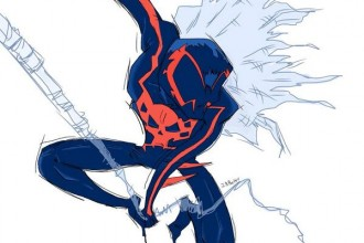 Spider-Man 2099 Fan Art - Spider-Man 2099