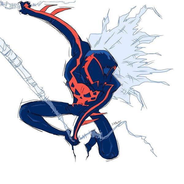 Spider-Man 2099 Fan Art - Spider-Man 2099
