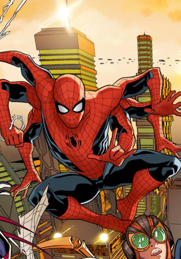 Spider-Man 2099 Preview 2 - Spider-Man 2099