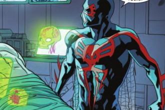 Spider-Man 2099 Issue 8 Preview - Spider-Man 2099